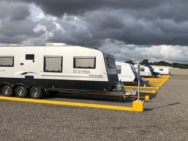 Caravan Storage Facility in Adelaide